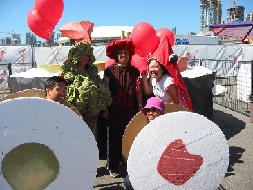 Sushi Gone Wild in costumes