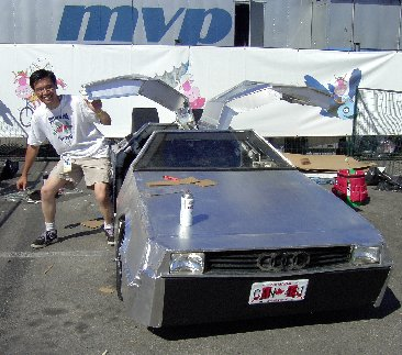 Back to the Flugtag's DeLorean